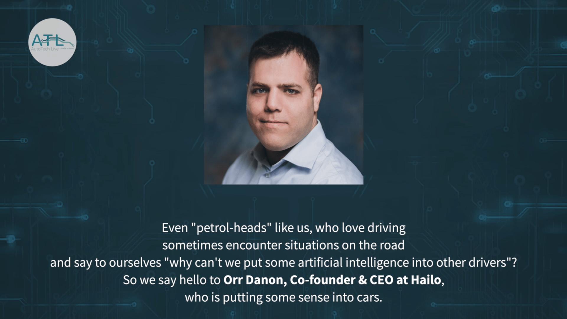 Orr Danon, CEO at Hailo